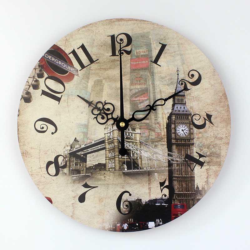 Бренд Лондонский Биг-Бен 3D Настенный декор часы с абсолютно бесшумно 12888 часы движение в европейском стиле Home Decor настенные часы подарок