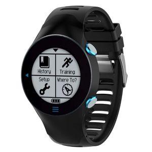 Image 4 - سيليكون استبدال شريط للرسغ حزام (استيك) ساعة للغارمين سلف 610 ووتش مع أدوات الأسود