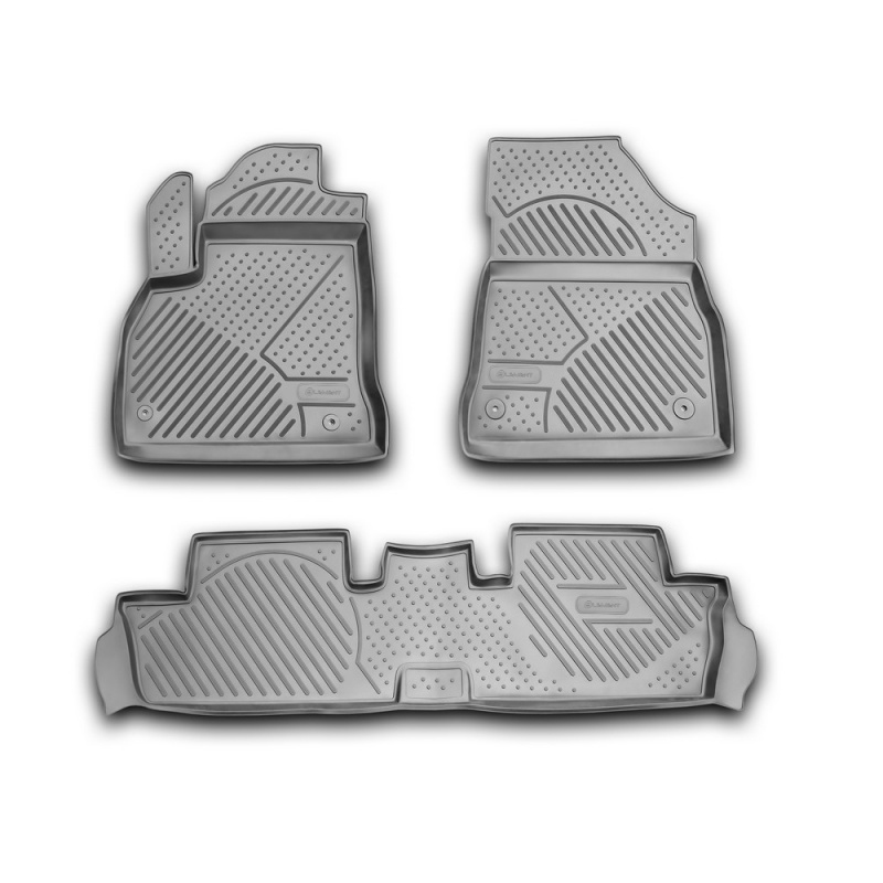 For Peugeot 3008 2010-2016 car floor mats carpets auto floor mat dust proof water proof car styling interior decoration