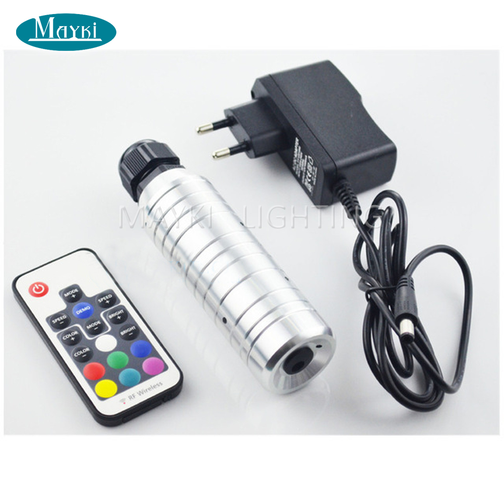 ФОТО Mini size Cree chip 6W RGB LED, mini led light illuminator for car top roof  fiber optc sky star lighting