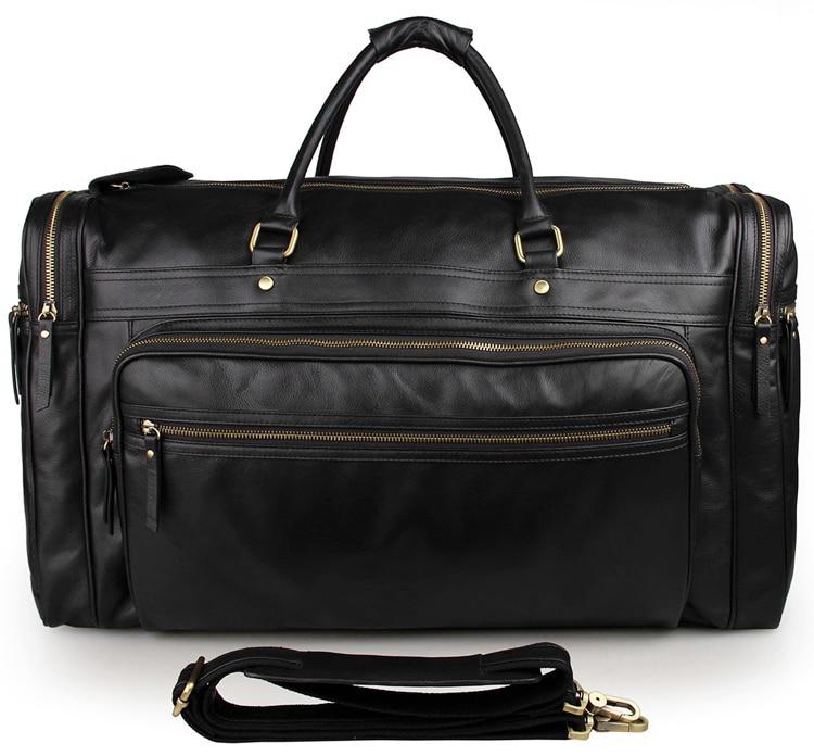 4c12a6ba8c4d4 Jmd فريد خمر الجلود حقيبة حمل حقيبة سفر الأمتعة حقيبة crossbody حمل 7317-1A