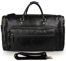 Unique Vintage Leather Travel Bag Tote Handbag Luggage Bag Crossbody Tote Bags 7317-1A