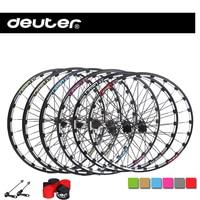 2016 New MTB Bike Wheelset CNC Rim Mountain Bicycle Wheel Four Bearings Compatible 11 Speed Racing