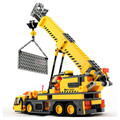 City building Crane Building Blocks Sets Model 380pcs BULLDOZER Educational DIY Bricks Toys For Children gift