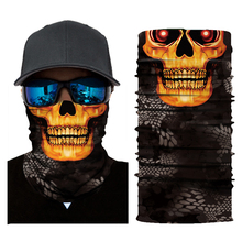 Motorcycle Mask balaclava Face Shield Biker skull Masque Scary Unisex Skull Mascarilla Ski Bandanas Mascara Moto