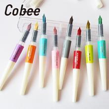 0,5 мм перьевая ручка поршневая пластиковая чернильная перьевая ручка Caneta канцелярские принадлежности офисные школьные принадлежности студенческий инструмент для письма