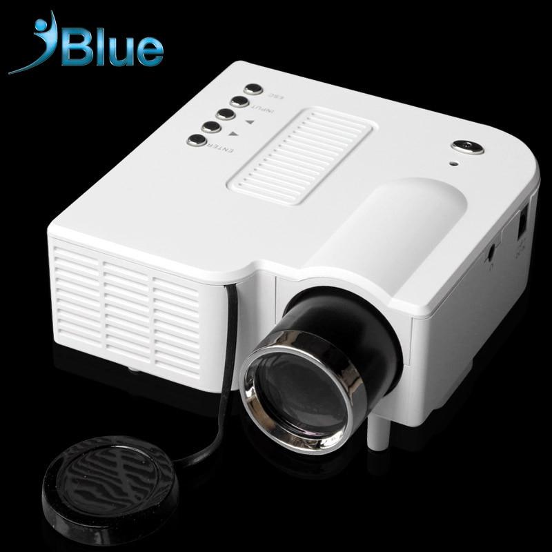 ФОТО 2016 UC28 + Portable LED Projector Home Theater Cinema Portable Mini Projector HDMI VGA AV USB SD lamp Remote Control proyector