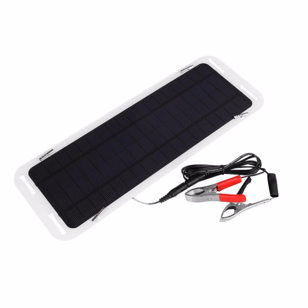 Smart 18v 5w Solar Power Panel Bank Portable Car Boat Powered Charging Battery Backup Charger 34312201cm In Cells From Consumer