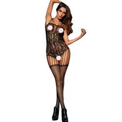 JAYCOSIN белье женское белье выдалбливают Открыть промежность Bodystockings перспектива белье пижамы Боди Teedies Для женщин пикантные im17