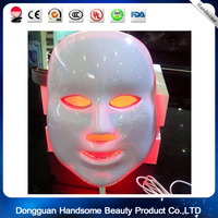 LED Photon Therapy Light Treatment Facial Skin Care Mask Red Green Blue Light