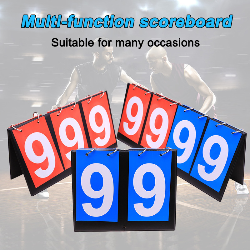 Portable Sports Competition Scoreboard Multi Digits Sports Score Board Table Tennis Basketball Badminton Football Volleyball