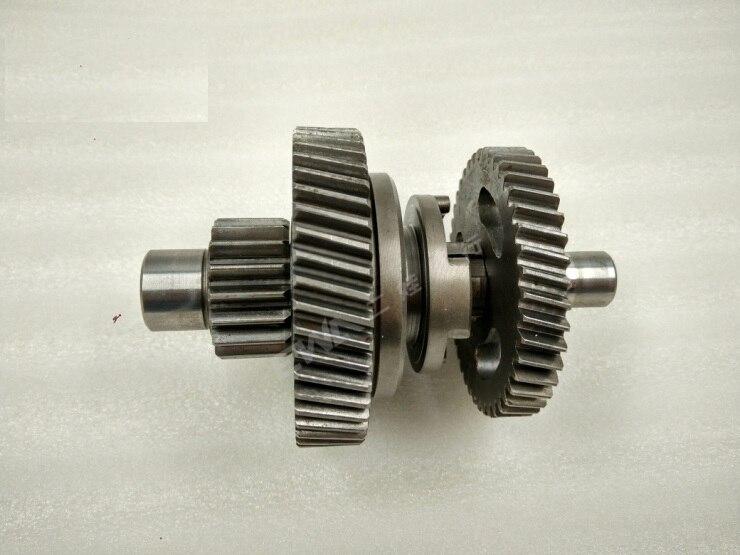 ФОТО reverse gear/shift gear middle shaft suit for LONCIN200 ATV/LX200-M/AU 49 TEETH/ 43 TEETH