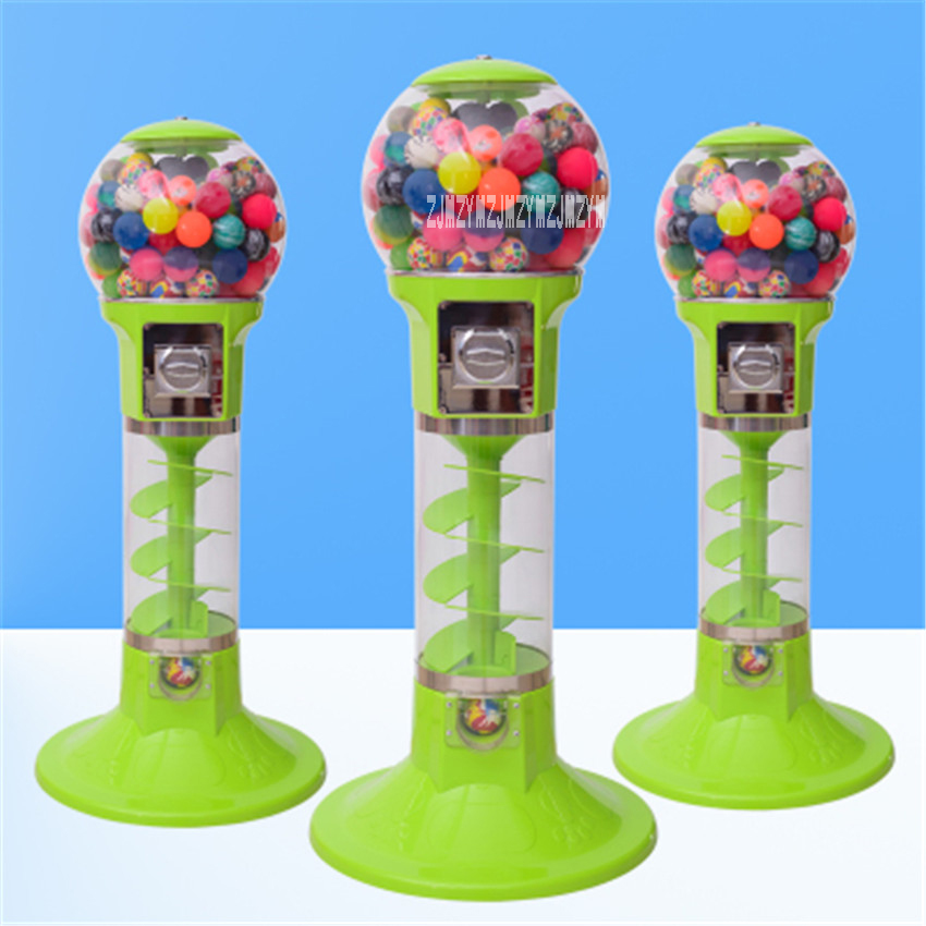 1PC Automatic Coin operated Game Machine 32mm 60mm Bouncy Ball Machines /Twisted Egg Games Vending Machine 1.1 m/1.3 m Hot Sale - 2