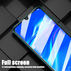 Image 4 - 2pcs Tempered Glass For Huawei Y6 2019 Full Cover 9H Explosion proof Protective film Screen Protector For Huawei Y7 2019