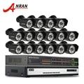16CH H.264 NVR Sistema CCTV Red de Vigilancia de 6 TB HDD Onvif 1080 P HD 25fps POE Cmos 48IR cámara de Red IP Al Aire Libre cámara
