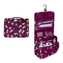 Portable Hanging Travel Cosmetic Bag Women Waterproof Sorting Organizer Makeup Storage Bags for Toiletry