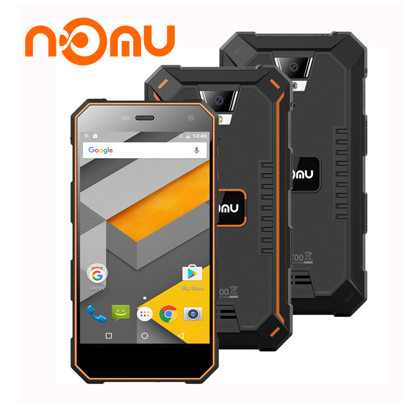 Nomu S10 MTK6737T 5 0inch Quad Core 4G Cell Phones Waterproof RAM2GB ROM16GB 8MP 1280x720 Mobile