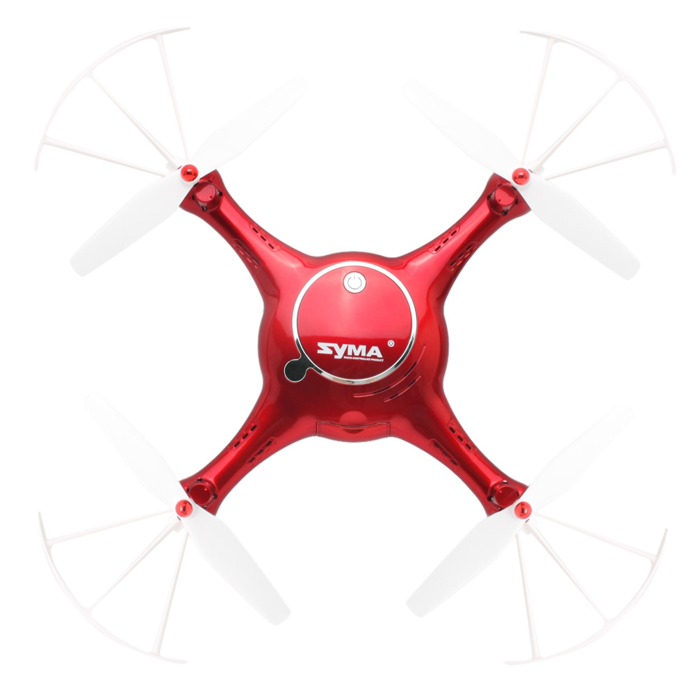 Nuevo Syma x5uw WiFi FPV control HD CAM 2.4g 4ch 6 eje Gyro RC quadcopter air prensa altura mantenga