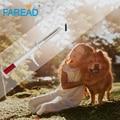 X100 envío gratis Microchip RFID 2,12x12mm 134,2 kHz ISO11784 FDX-B animal pet transpondedor caballo jeringa de chip de seguimiento