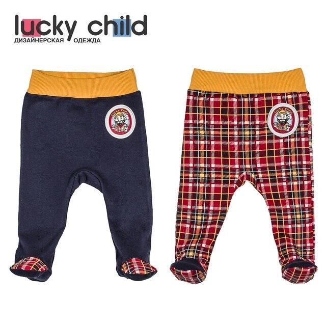Ползунки Lucky Child без начёса для мальчиков, арт. 27-4, 1 шт (Мужички) [сделано в России, доставка от 2-х дней]