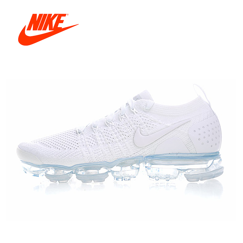 Original New Arrival Authentic NIKE AIR Vapormax Flyknit 2 Mens Running Shoes Comfortable Sneakers Good Quality