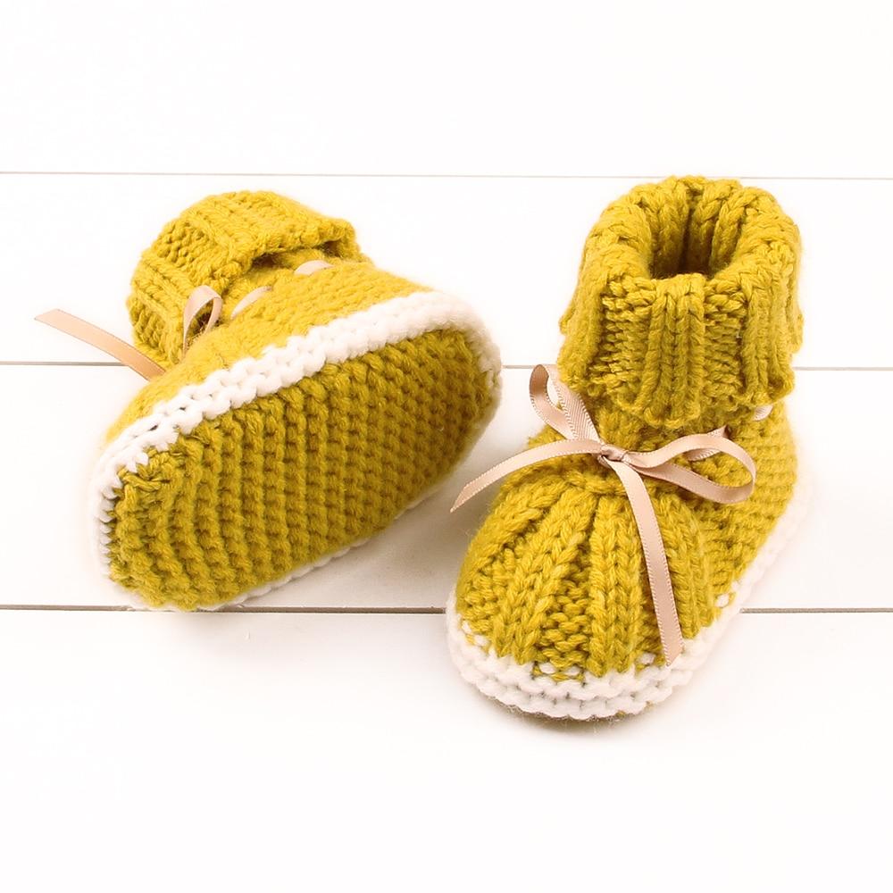 חמוד תינוק נעלי תינוקות רך סוליות ראשון הליכונים חורף חם תינוקות פעוט הליכה נעלי סתיו ילד בנות PrewalkER הנעלה