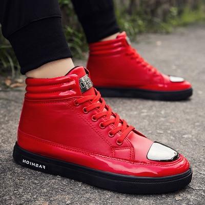 Hip 2018 De 1 red black2 Sapatos Primavera Top Outono Coréia Estudantes D' À Moda Placa white Prova silver Água silver2 Homem Tamanho Black1 Casuais Da Ue WwqXr01xq