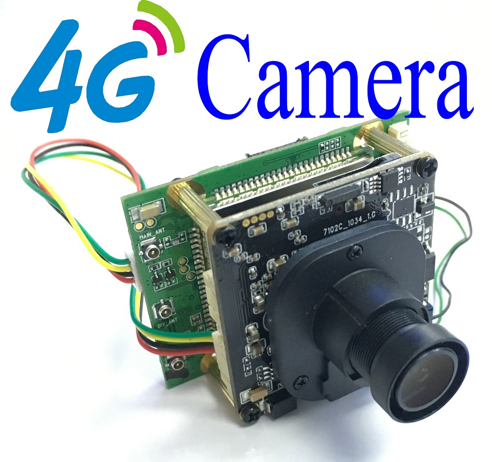 3G 4G Camera Module 4G IP Camera Chip Board Wifi Wireless IP Camera For Outdoor Indoor