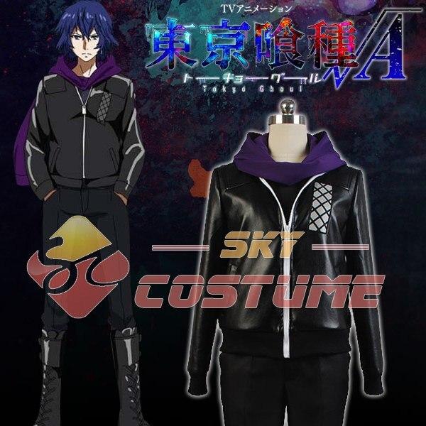 все цены на Tokyo Ghoul Cosplay Kirishima Ayato Coat Pants Anime Cosplay Costume Jackets Full Set