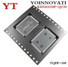 10 PCS K4D263238F QC50 K4D263238F QC K4D263238F K4D263238 TQFP100 Best quality
