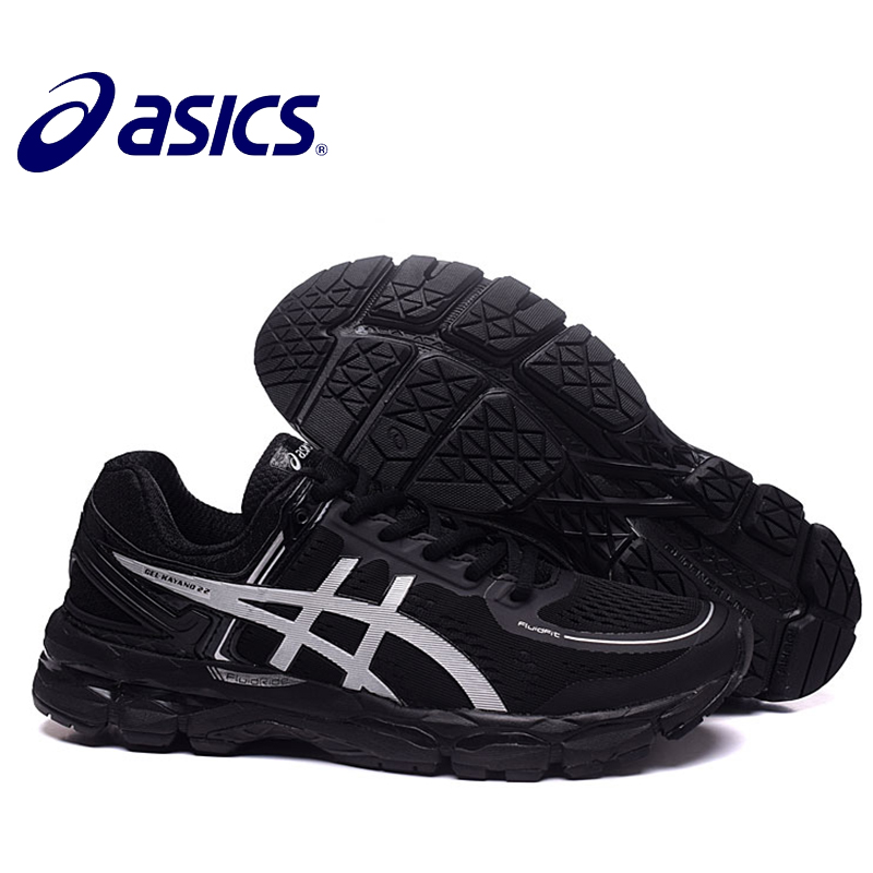 New Arrival Official ASICS GEL-KAYANO 22 Men's Cushion Sneakers Comfortable Outdoor Athletic Tennis shoes Non-slip Hongniu asics tiger gel lyte iii lc