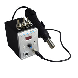 Image 4 - Lead free SMD Soldering Station LED Digital Solder Iron Hot Air GUN Blowser Eruntop 858D 858d+