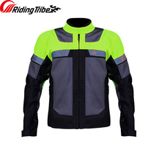 Mens Motorcycle Jacket Racing Suit Windproof Protective Armor Jacket+Motorcycle Pants Hip Protector Moto Clothing Set