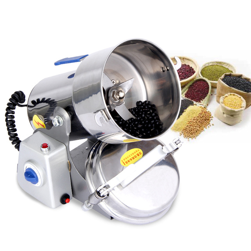 JZ0/2017 New 600g Multifunctional Portable Grinder Herb Flood Flour Pulverizer Food Mill Grinding Machine Electric pepper mill