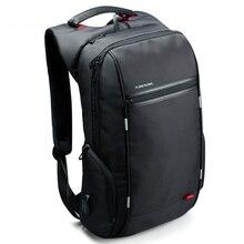 Kingsons de la marca cargo usb externo antirrobo mochila portátil de diseño para las mujeres 15.6 pulgadas impermeable mochila ordenador bolsa de los hombres
