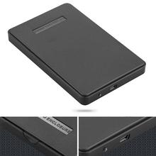 """new Black External Enclosure for Hard Drive Disk Usb 2.0 Sata Hdd Portable Case 2.5"""" Inch Support 2TB Hard Drive high quality"""
