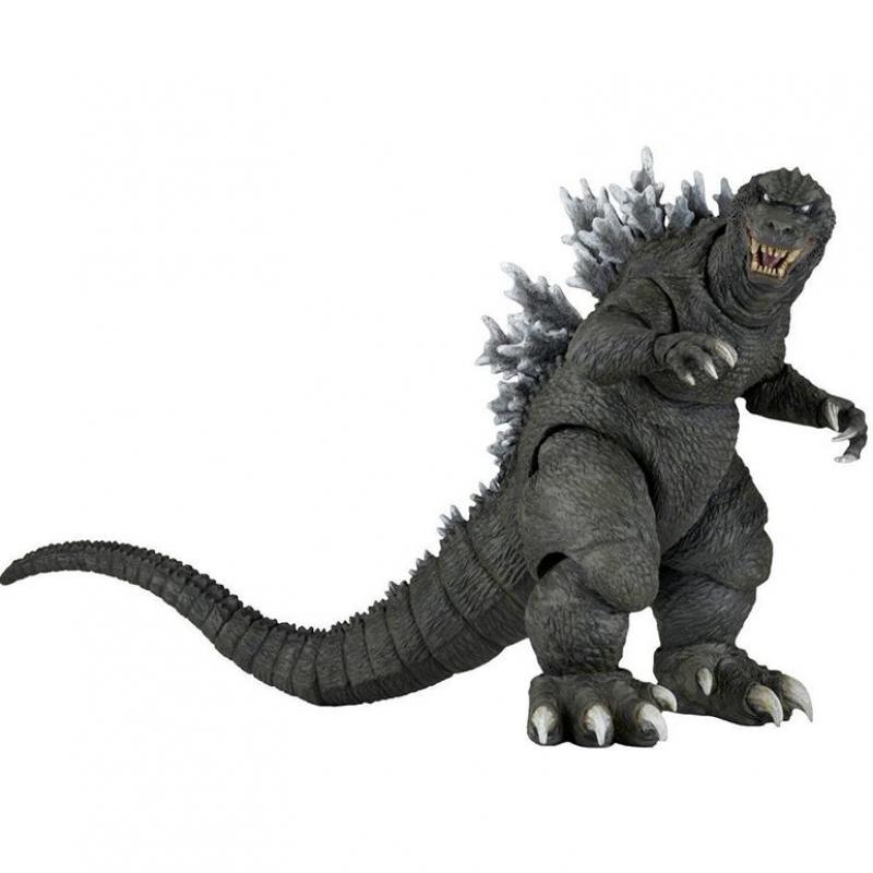 NECA 2001 Godzilla Toy Doll Action Figure With Box 7 elsadou neca chucky action figurs child s play doll with retail box 15cm