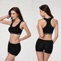 Mulheres camisa de secagem rápida profissional acolchoado yoga sports bra push up Dry Fit Regatas Para A Execução de Fitness Ginásio Sutiãs Plus Size