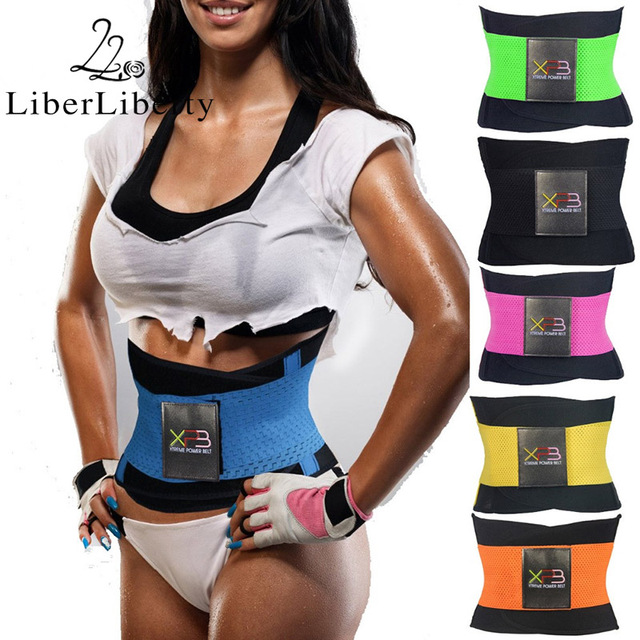 Women Men Hot Running Body Waist Slimming Belt Girdle Waist Training Gym Sports Ultra Sweats Firm Control Trainer Shaperwear 1