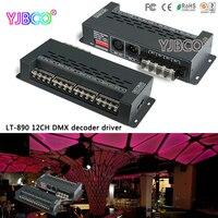 LTECH Led Driver LT 890 12CH DMX PWM Decoder DC5 24V Input 5A 12CH Output For