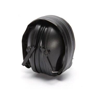 Тактические съемные наушники-вкладыши, регулируемые складные наушники с защитой от шума и храпа, гарнитура с мягкой подкладкой и шумоподав...