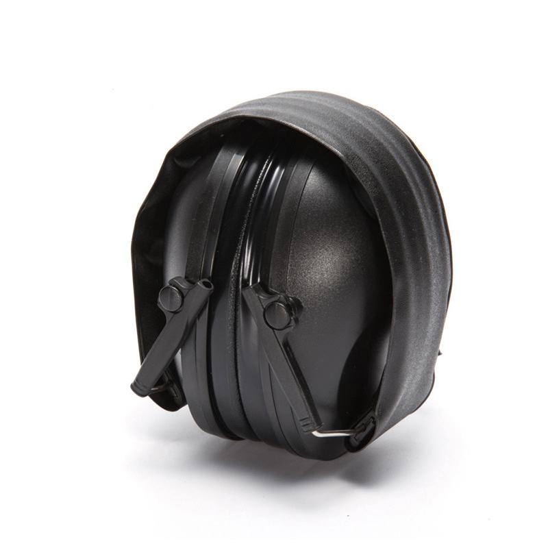 Foldable Electronic Headphone Soft Earmuff Noise Canceling Shooting Headset