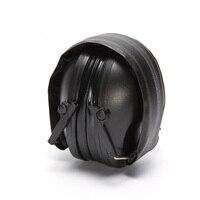 Protetor de orelha tático  protetor de ouvido para tiro  ajustável  antirruído  acolchoado  macio  cancelamento de ruído