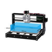 Portable 3018 3Axis Mini DIY CNC Router Adjustable Speed Spindle Motor Wood Engraving Machine Milling Engraver