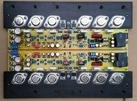 50W + 50W KSA50 ON MJ15024 / 15025 power gold tube + MJE15034 / 15035A power amplifier board
