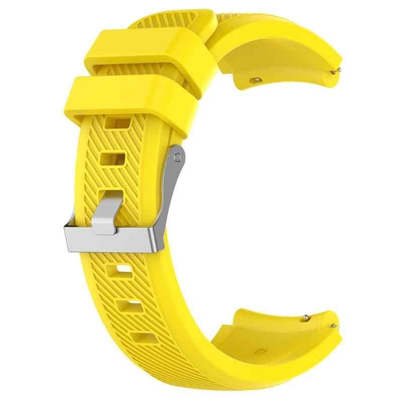1 Pz Molle Del Silicone Wristband Cinghia Replacemend per ZTE ZW10 Intelligente Orologio Al Quarzo Cinturino In Silicone di Ricambio Braccialetto Colorato