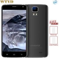 Vkworld S3 Android 7.0 1 GB + 8 GB 5.5 ''MTK6580A Quad Core do 1.3 GHz Ekran 2.5D Szkła Corning Gorilla OTA FM Telefon Komórkowy 3G GPS