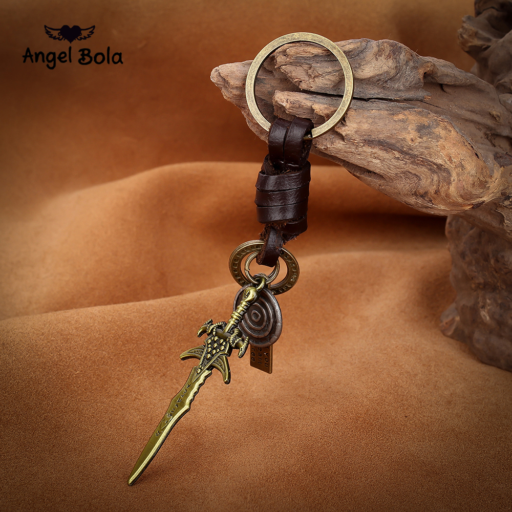 Anime Dark Souls 3 Weapon Key Chain Collection Keychain KeyRing Metal Artorias Sword Model Chaveiro Llavero Jewelry image