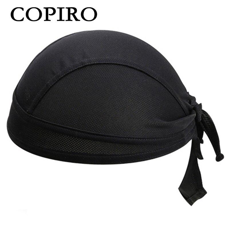 Copiro Men Women Cycling Cap Helmet Outdoor Sport Bike Headwear Bicycle  Bandana Hat Breathable Sweat Solid fbecc55a7