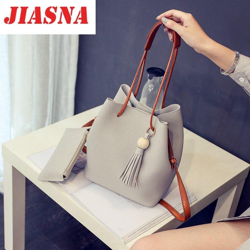 JIASNA 2017 New Luxury Women Designer Handbags High Quality s